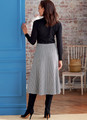 Butterick B6866 | Misses' Skirt and Sash