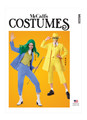 McCall's M8228   Misses' Jacket, Vest and Cropped Pants Costume