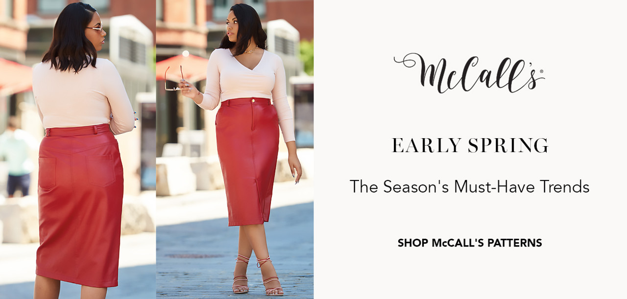 McCall's Sewing Patterns Lookbook