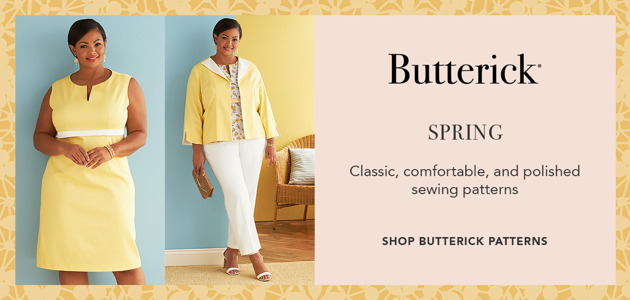 Butterick Sewing Patterns Lookbook