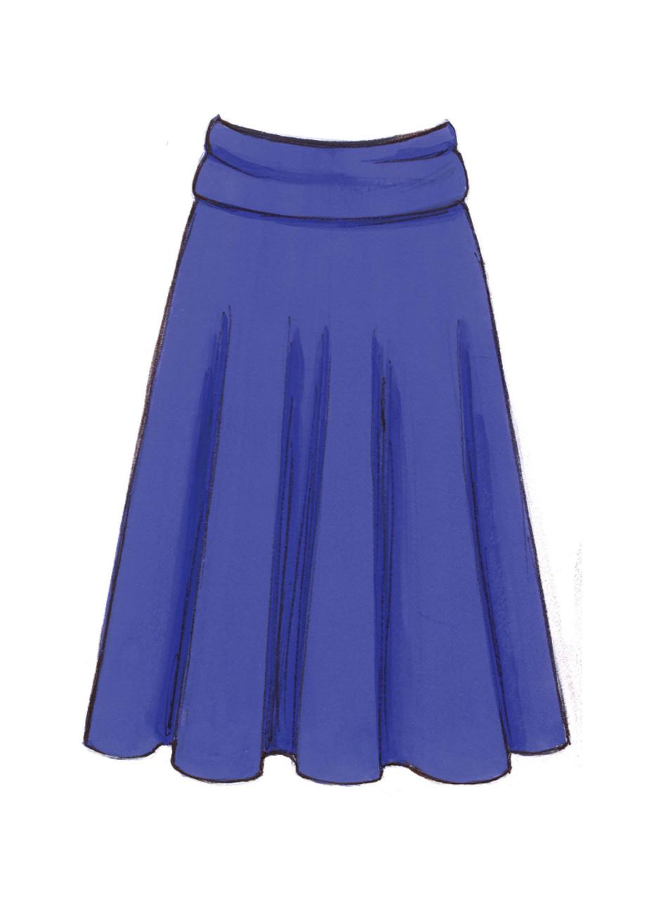 Kwik Sew K3513 Skirts Sewing Pattern Size XS-S-M-L-XL