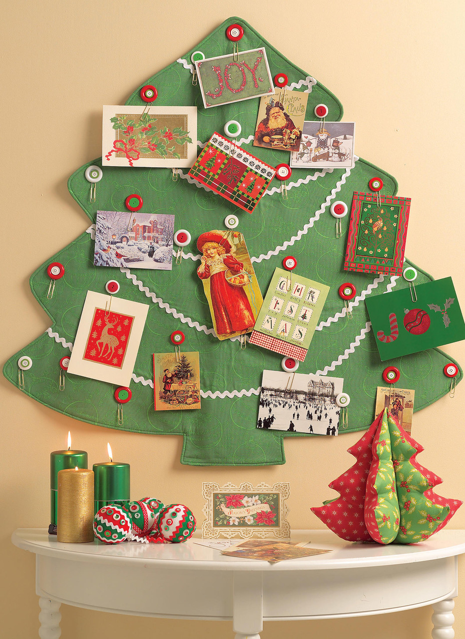McCalls Crafts Easy Sewing Pattern 5778 Christmas Stockings /& Decorations...