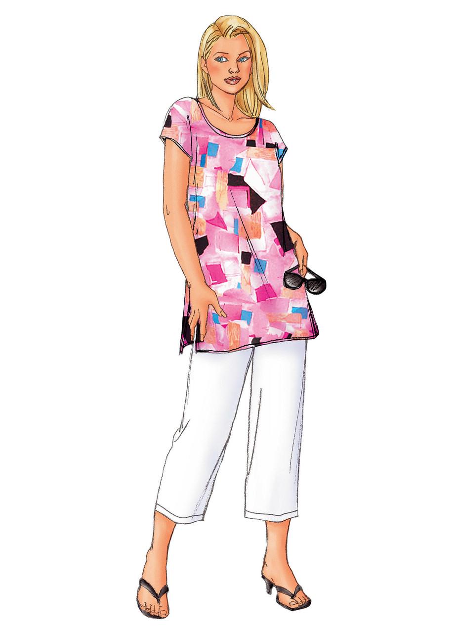 Butterick Sewing Pattern B3039 Women/'s//Women/'s Petite Shirt Dres... Top Tunic