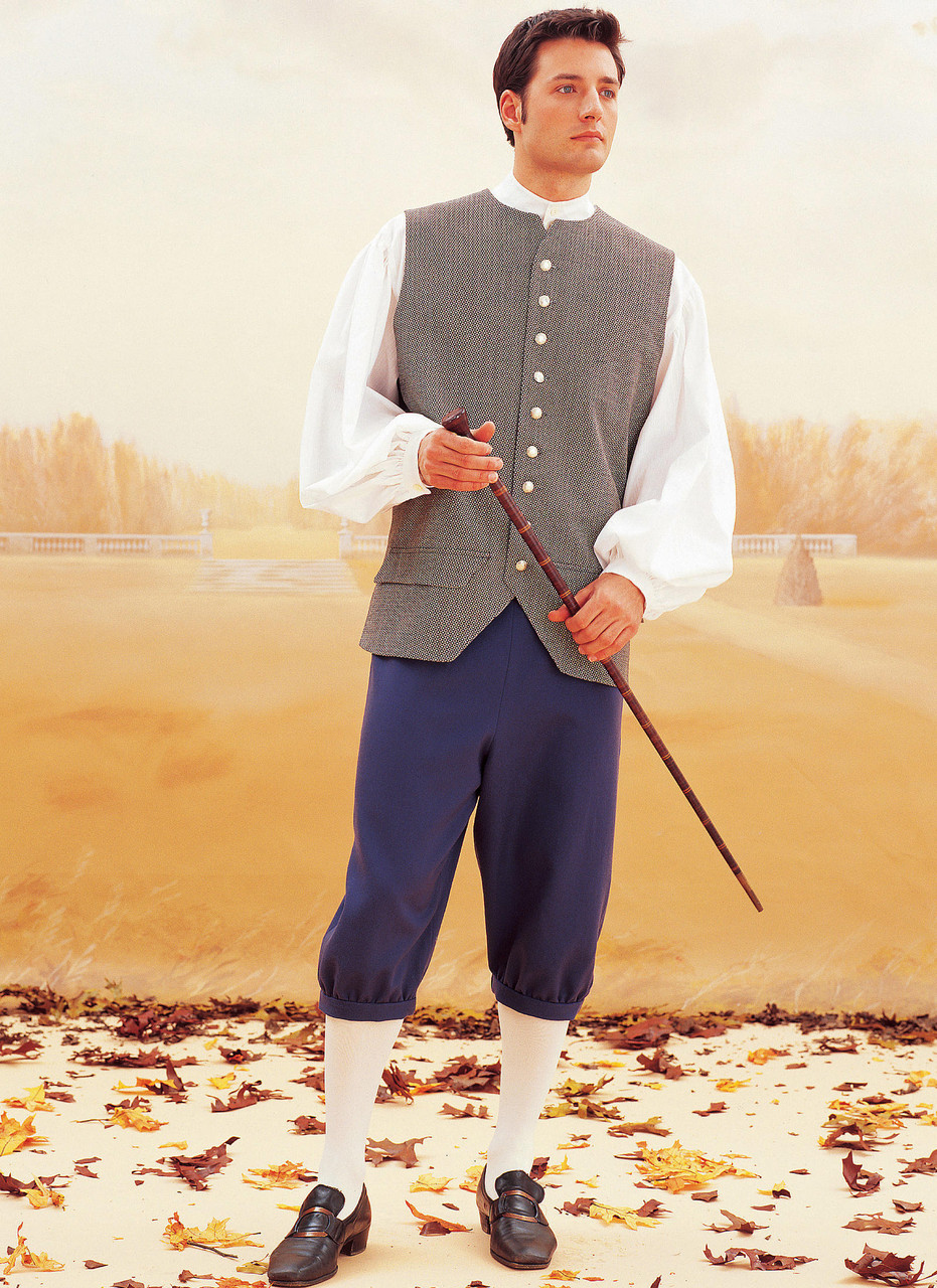 coat, Vest, Shirt, Trousers And Hat Butterick Historical Costume