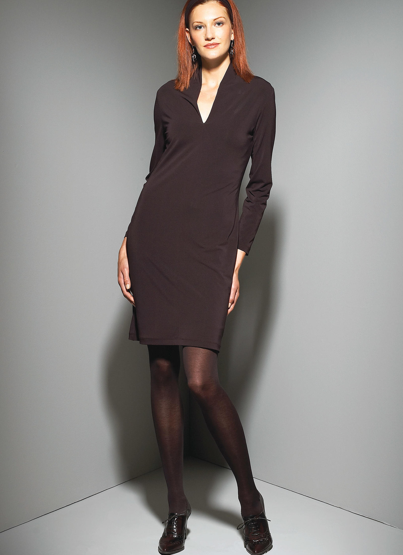 KwikSew-3658 Kwik Sew Ladies Sewing Pattern 3658 V neck Top /& Dress