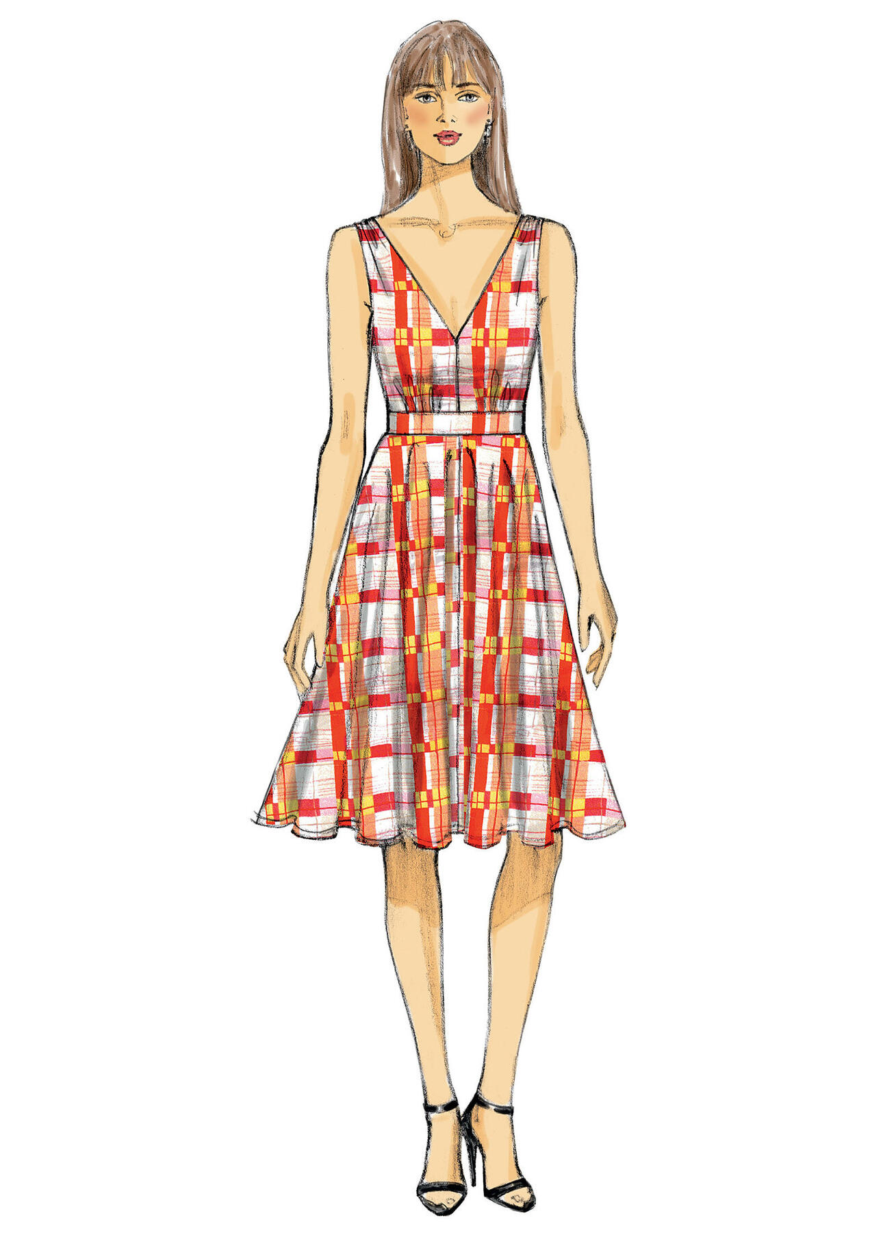 Vogue Sewing Pattern V9053 Women/'s Special Occasion Dress