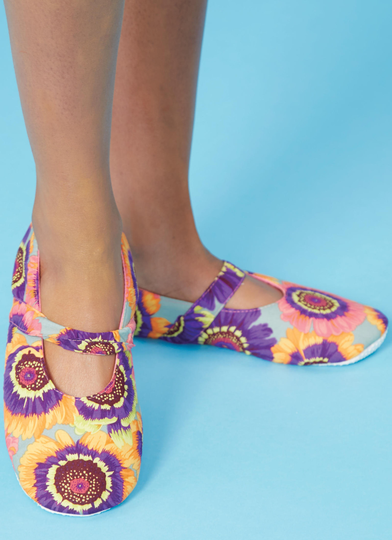 KWIK-SEW Patterns Kwik Damen Slipper Schuhe Schnittmuster von Ellie Mae Designs Gr/ö/ßen XS-XL
