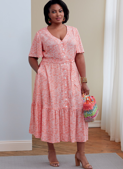 Butterick Plus Sizes Page 1 Somethingdelightful Com,Mothers Bride Wedding Dresses