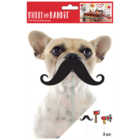 Molly and Bandit™ Pet Party - Photo Props - Fireman Collection, 3 Pack