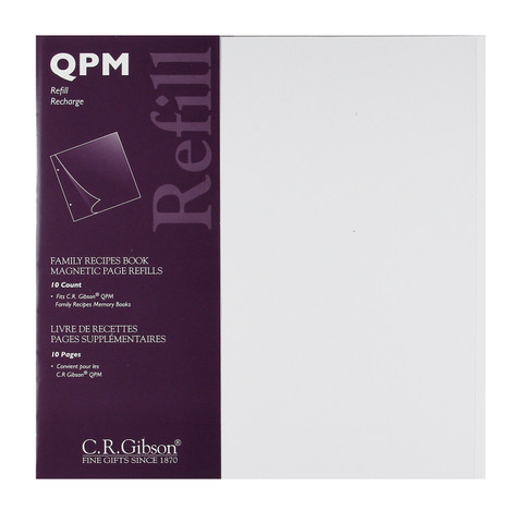 QPM Magnetic Photo Page Refill