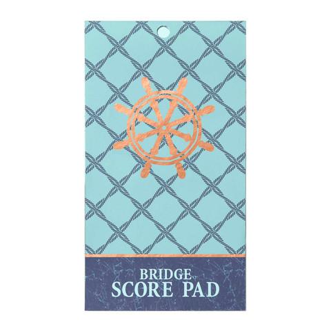 Bridge Score Pad - Ocean's Depth