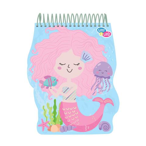 Shaped Sketch Pad - Mermaid