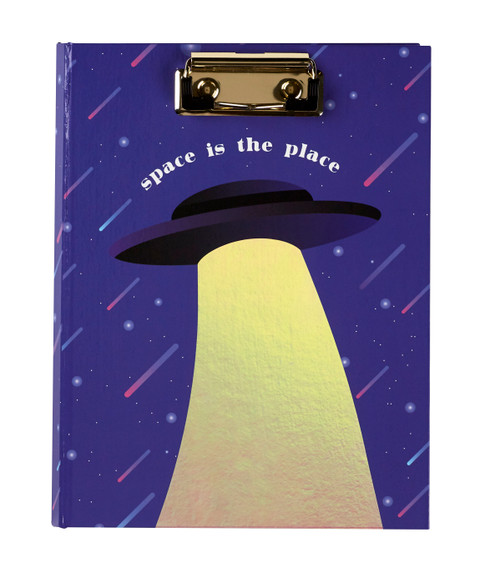 Mini Clipboard Padfolio - Space