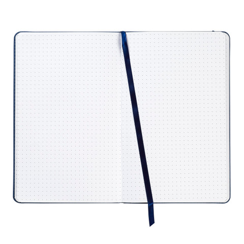 Blue Leatherette Journal, 5 x 8