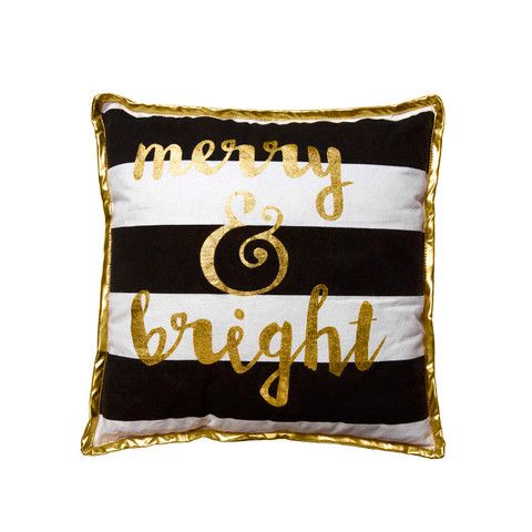 Large Decorative Pillow - Merry & Bright