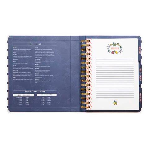 Mini Recipe Notebook - Lemon Drop