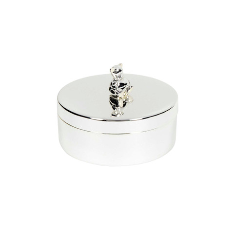 Silver Plated Trinket Box
