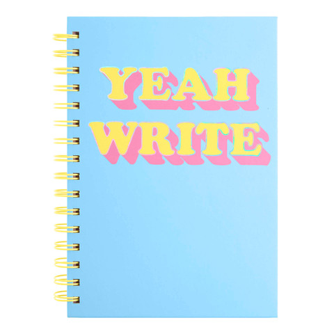 Perforated Spiral Journal with Pen - Brights