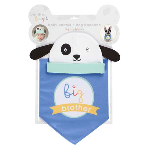 Canine Bandana & Baby Beanie Set - Big Brother