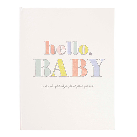 Memory Book - Hello Baby
