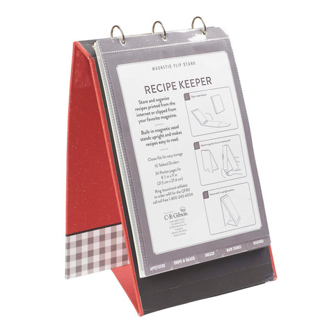 Vertical Recipe Keeper - Home Cooked Recipes