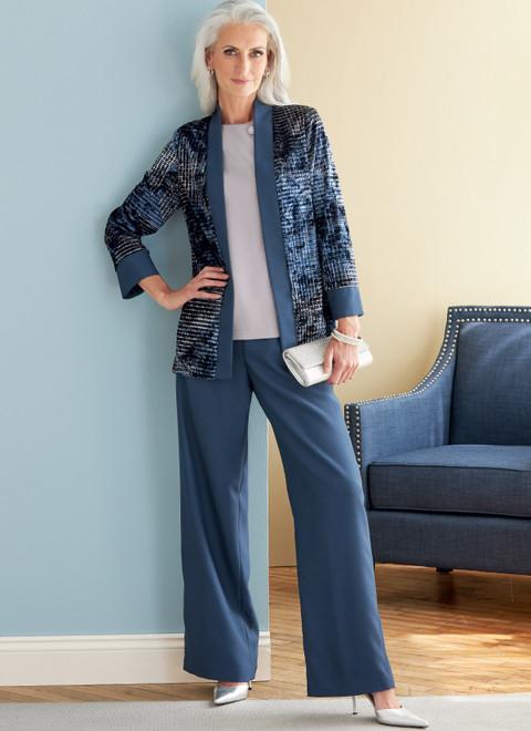 Butterick B6796 | Misses' Jacket, Dress, Top, Skirt & Pants