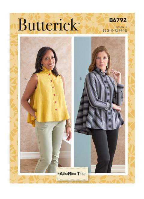 Butterick B6792 (Digital) | Misses' Top