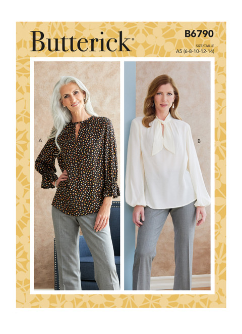 Butterick B6790 | Misses' Tops