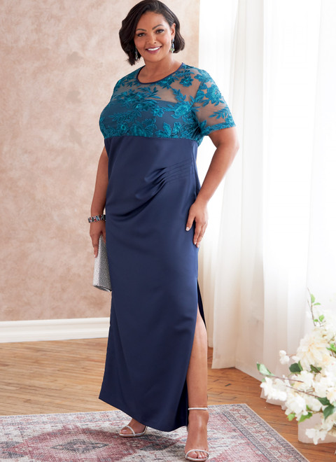 Butterick B6783   Women's Dress In C/D, DD Cup Sizes
