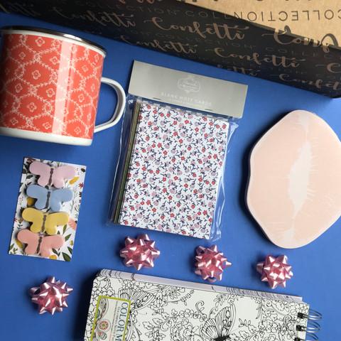 Confetti Collection: Note to Self Box A