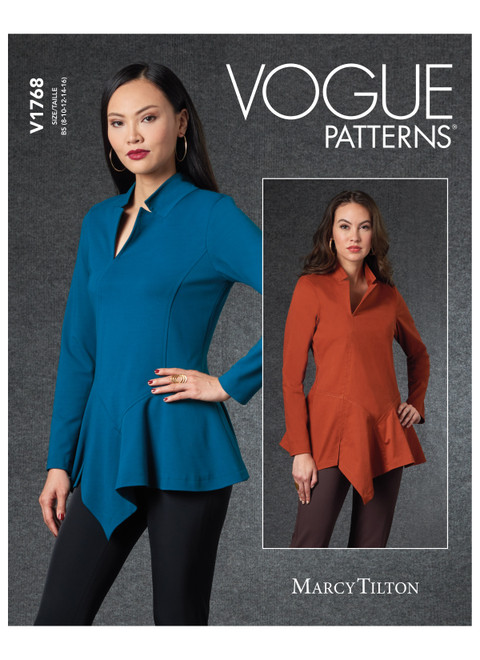 Vogue Patterns V1768 | Misses' Top