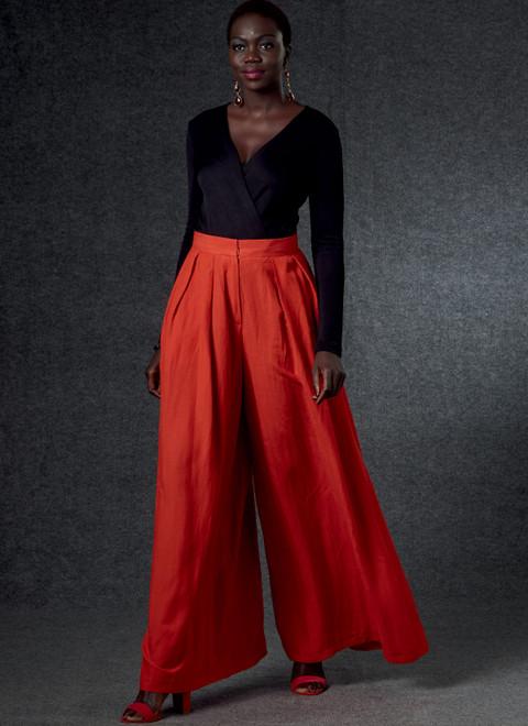 Vogue Patterns V1772 | Misses' Pants