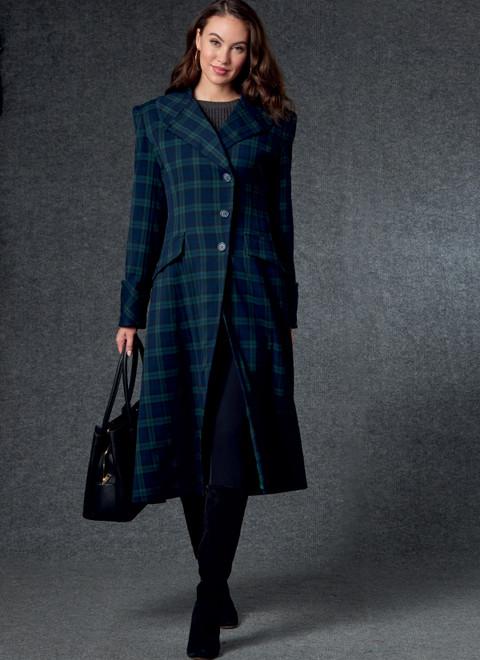 Vogue Patterns V1752   Misses' Coat