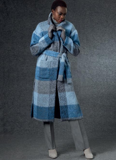 Vogue Patterns V1758 | Misses' Vest, Jacket, Belt & Pants