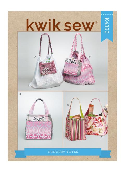 Kwik Sew K4386 | Grocery Totes