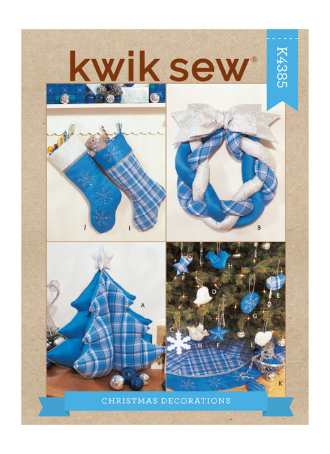Kwik Sew K4385 | Christmas Decorations