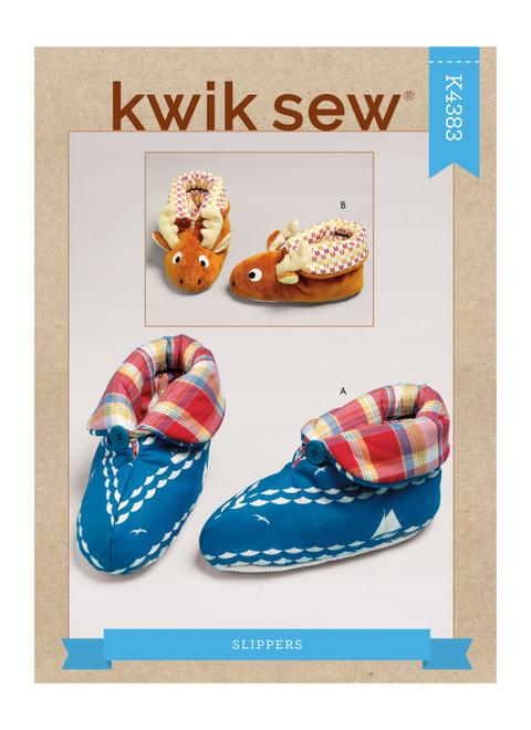 Kwik Sew K4383 | Slippers