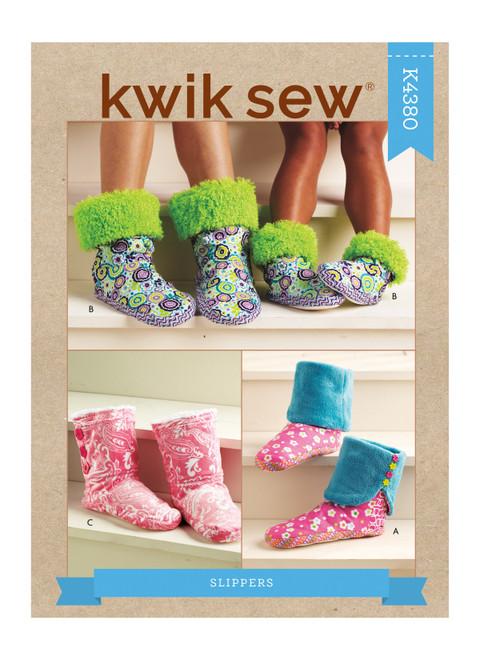 Kwik Sew K4380 | Slippers