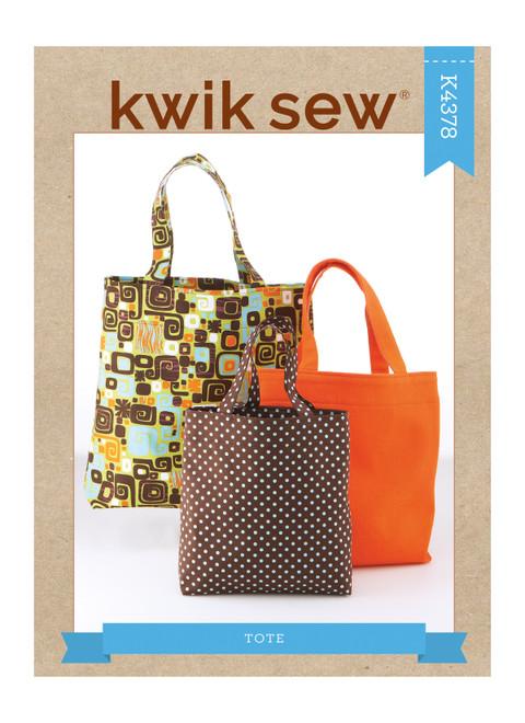 Kwik Sew K4378   Tote