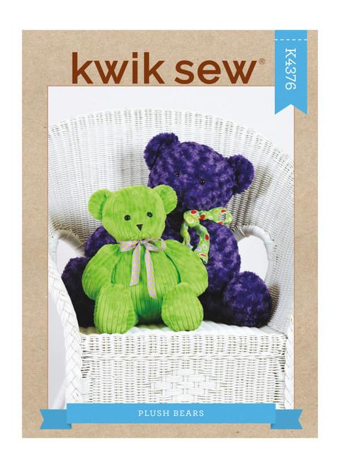 Kwik Sew K4376 | Plush Bears