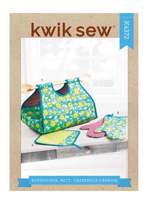 Kwik Sew K4372   Pot Holder, Mitt, Casserole Carrier