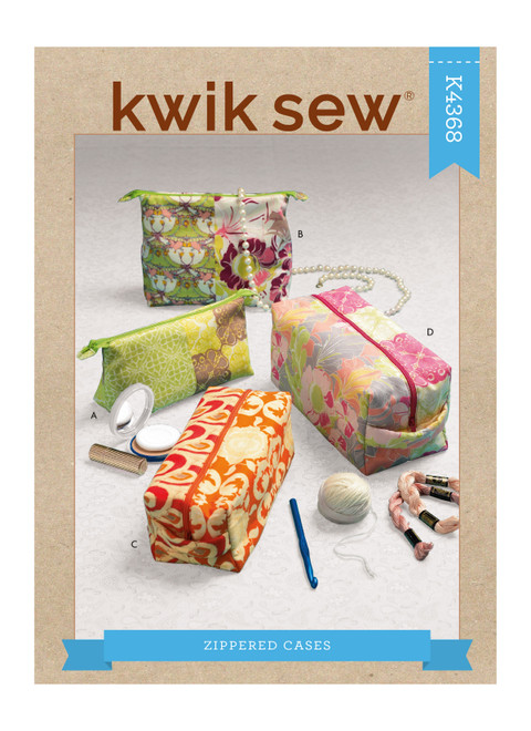 Kwik Sew K4368 | Zippered Cases