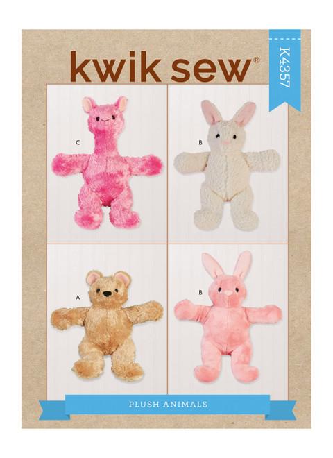 Kwik Sew K4357 | Plush Animals