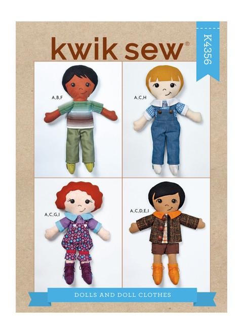 Kwik Sew K4356 | Dolls & Doll Clothes