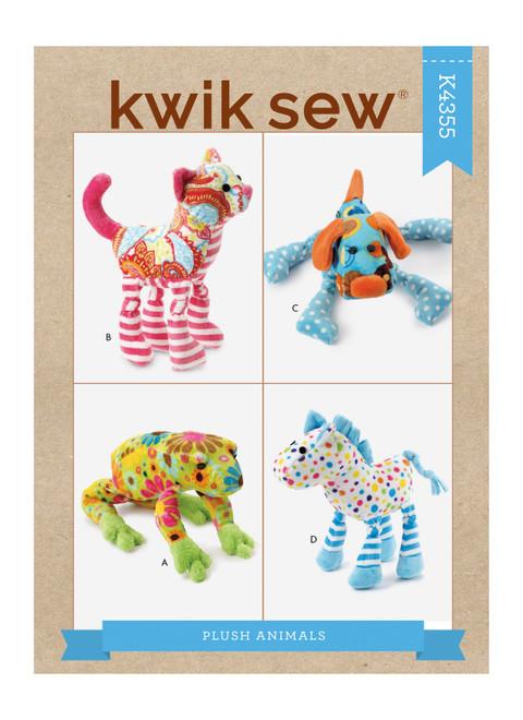 Kwik Sew K4355 | Plush Animals