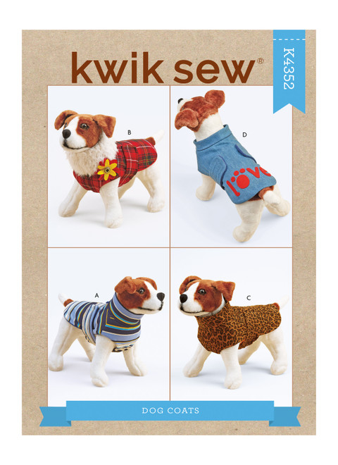 Kwik Sew K4352 | Dog Coats