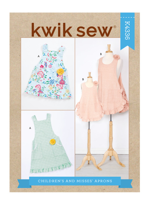 Kwik Sew K4336 | Children's & Misses' Aprons