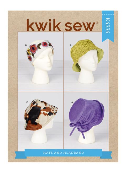 Kwik Sew K4334 | Hats & Headband