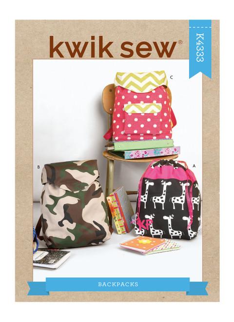 Kwik Sew K4333 | Backpacks