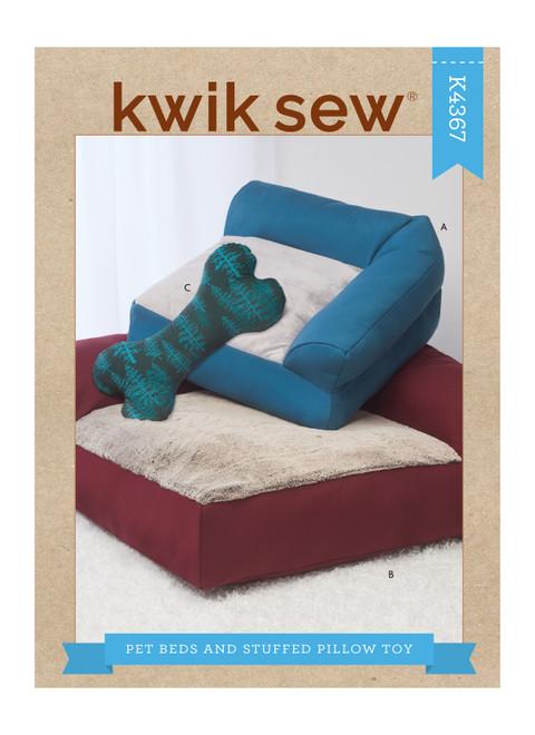 Kwik Sew K4367   Pet Beds & Stuffed Pillow Toy